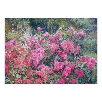 Rosebush Business Card Calendar