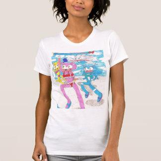 Rosechu Vest T-Shirt