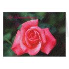RoseCustom1, In Remembrance Card