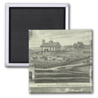 Rosedale, Robinson Hickory Grove, Kansas Square Magnet