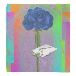 Rosegifts Art Rose bandana