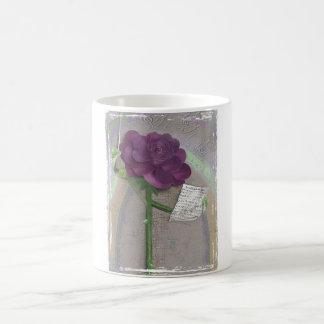 Rosegifts Music Rose Mug. Basic White Mug