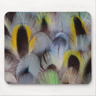 Rosella Feather Design Mouse Mat
