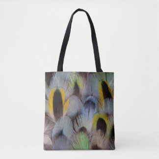 Rosella Feather Design Tote Bag
