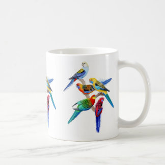 Rosella Parrots Mug
