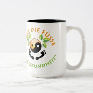 Rosemarie's Wohlfühl Oase 2-Farbe Becher (0,45L) Two-Tone Coffee Mug