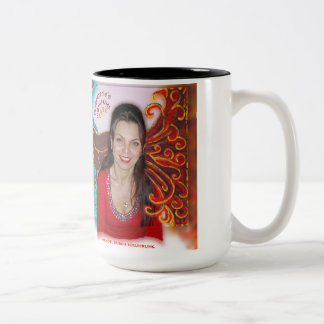 Rosemarie's Wohlfühl Oase 2-Farbe Becher 3 (0,45L) Two-Tone Coffee Mug
