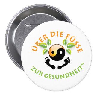 Rosemarie's Wohlfühl Oase Stiftknopf 7.2cm rund1 7.5 Cm Round Badge