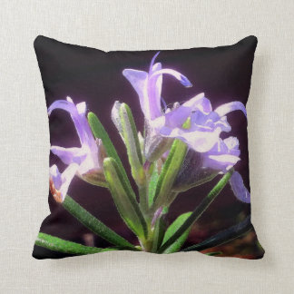 Rosemary Flowers Cushion