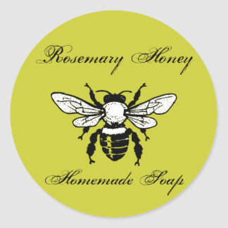 Rosemary Honey Soap Labels