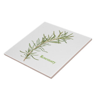 Rosemary - Large Ceramic Tile