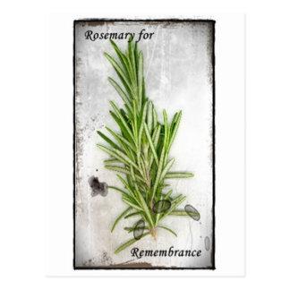 Rosemary Postcard