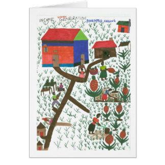 Rosemary's Pineapple Plantation Card
