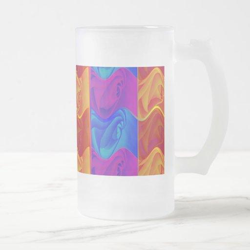 Rosen Frosted Glass Mug