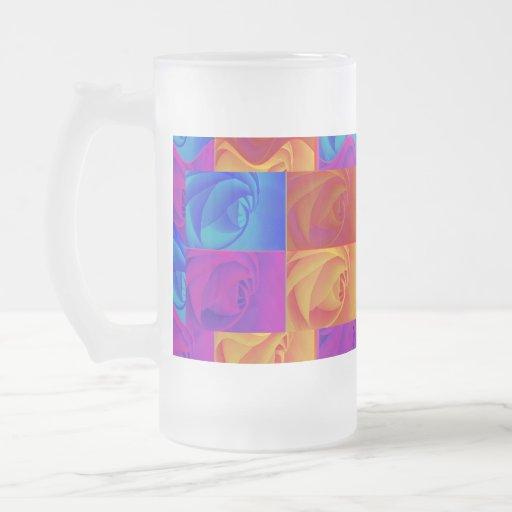Rosen Kaffeetasse