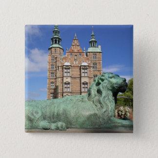 Rosenborg Palace, Copenhagen, Denmark 15 Cm Square Badge