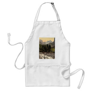 Rosenlaui Glacier and Gorge, Bernese Oberland, Swi Adult Apron