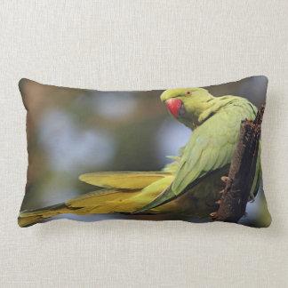 Roseringed Parakeet,Keoladeo National Park, Lumbar Cushion