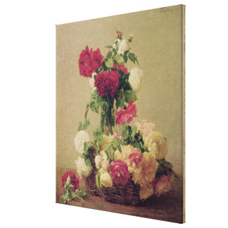 Roses, 1891 canvas print