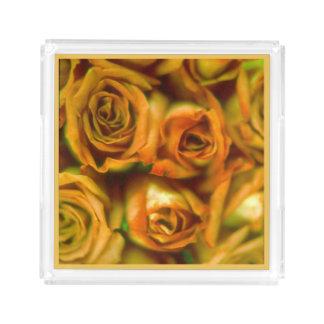 Roses Acrylic Tray