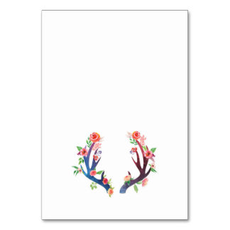 Roses and Antler Card