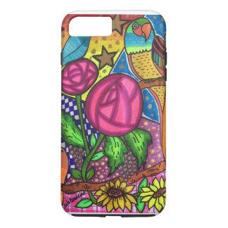 Roses and birds iPhone 8 plus/7 plus case