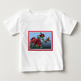 Roses and butterfly baby T-Shirt