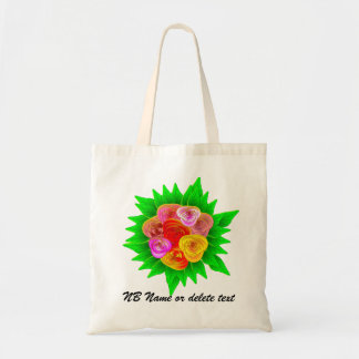 Roses and Castles Canal Boat Art Bag