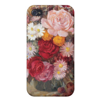 Roses and Daisies iPhone4 Case iPhone 4/4S Cover