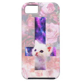 Roses And Inverted Cross Kitten Case