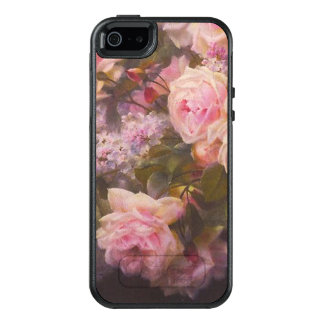 Roses and Lilacs on a Garden Bench OtterBox iPhone 5/5s/SE Case