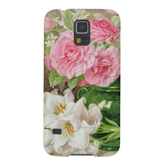 Roses and Lilies Cases For Galaxy S5