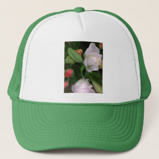 Roses and Lilies Trucker Hat