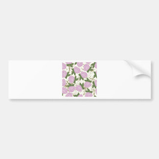 roses and peeling paint bumper sticker