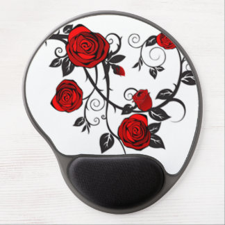 Roses and Vines Gel Mousepads