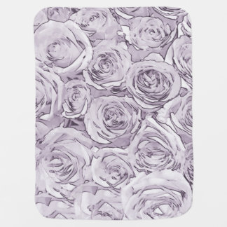 Roses and wings baby blanket