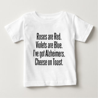 Roses Are Red Funny Quote Baby T-Shirt