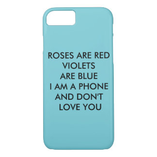 ROSES ARE RED iPhone 8/7 CASE