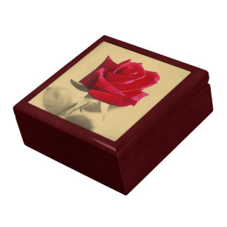 Roses Are Red Large Square Gift Box