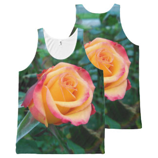 Roses aren't always red All-Over print tank top
