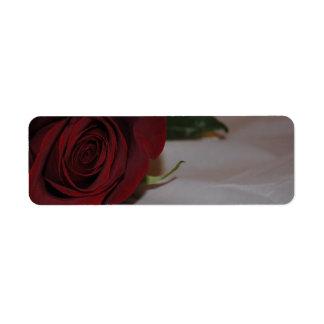 Roses Avery Label Return Address Label