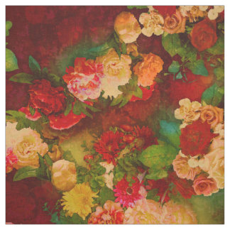 Roses baroque fabric