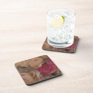 Roses Beverage Coasters