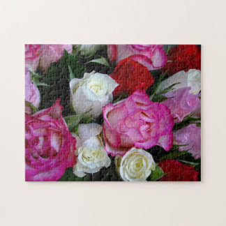 Roses Bouquet Puzzle - 252 pieces