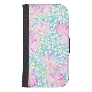 Roses, Butterflies Samsung Galaxy S4 Wallet Case