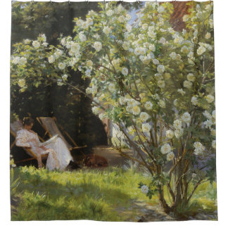 Roses by P.S. Kroyer Shower Curtain