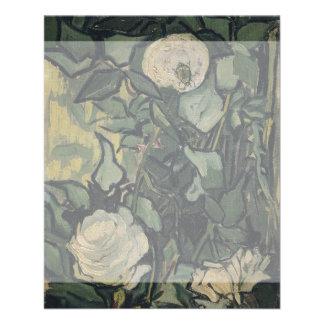 Roses by Vincent Van Gogh 11.5 Cm X 14 Cm Flyer