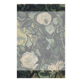 Roses by Vincent Van Gogh 14 Cm X 21.5 Cm Flyer