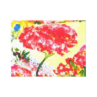 Roses. Canvas Print