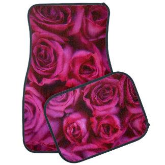 Roses Car Mat